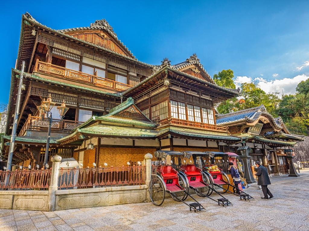 Dogo Onsen Bath House / 道后温泉