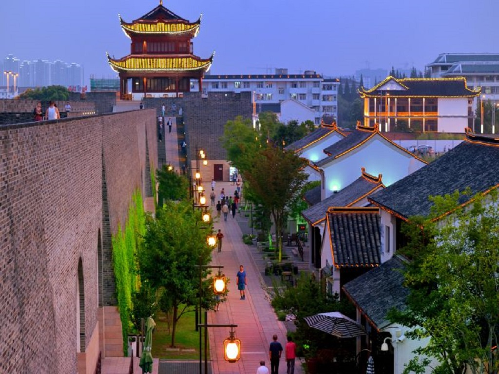 Xiangmen Ancient City Wall相门古城墙