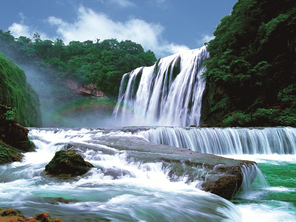 Huangguoshu Waterfull黄果树瀑布景区