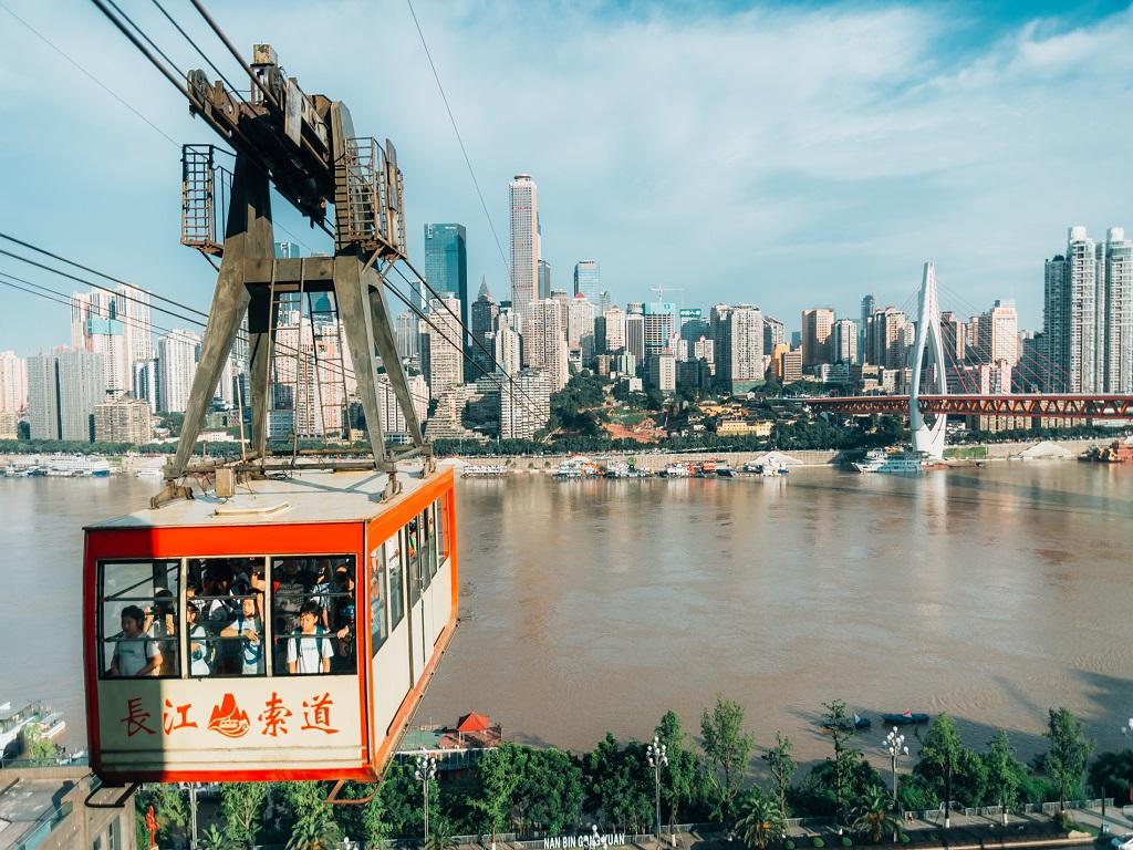 Yangtze River Cableway长江索道