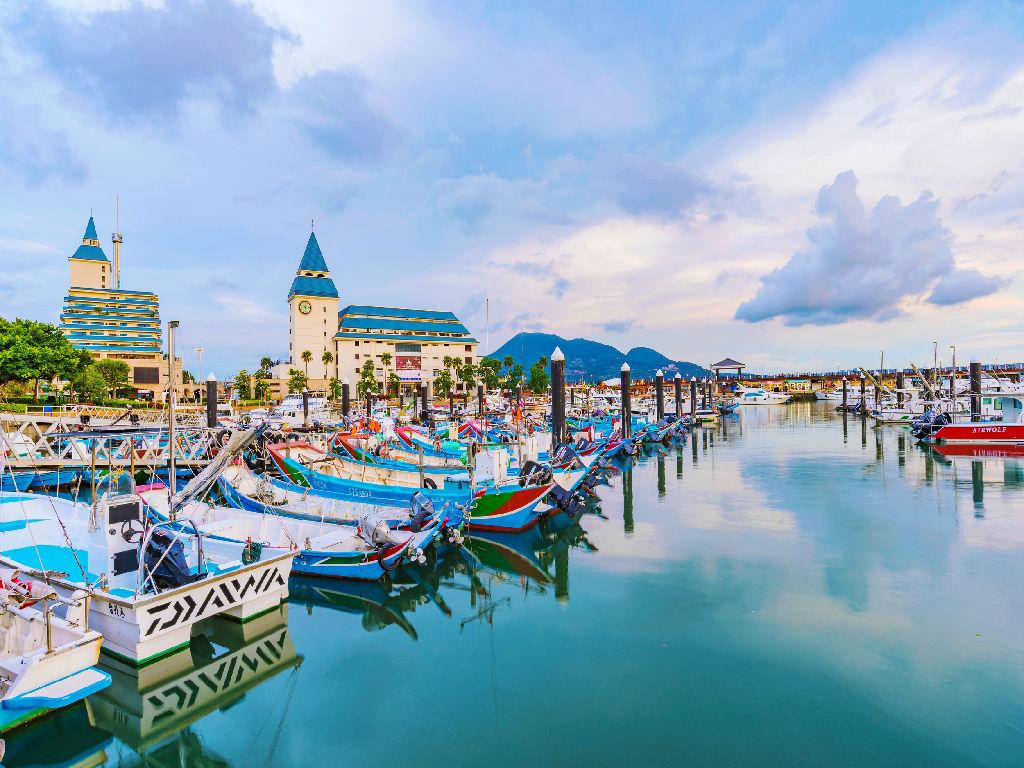Tamsui Fisherman's Wharf (漁人码头)