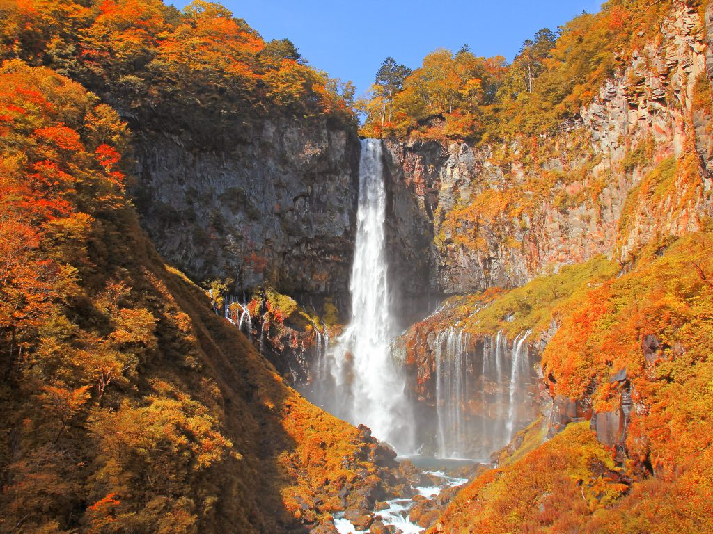 Kegon Falls Autumn (Late Oct - Nov) / 华严瀑布(10月尾至11月)