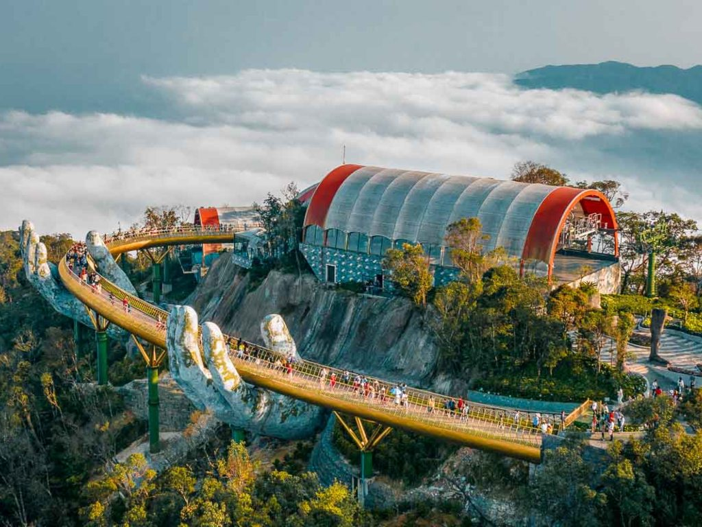 Ba Na Hills - Golden Thread Bridge Aerial.jpg