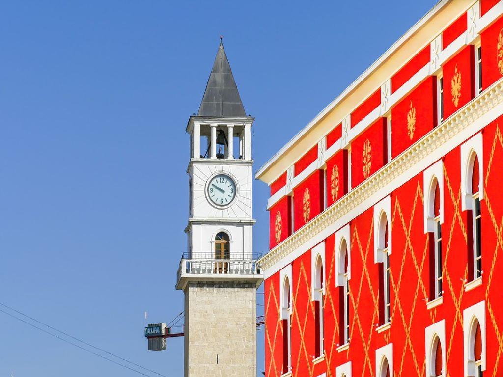 Day 08-07  Clock Tower, Tirana (钟楼,地拉那)