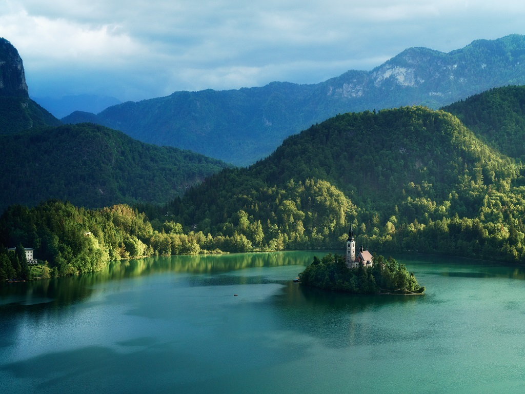 Day 09-02  Lake Bled (布雷德湖)