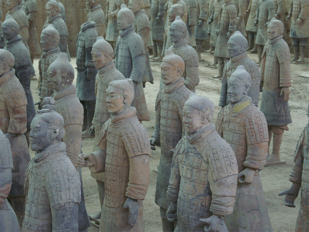 Emperor Qingshihuang Terracotta Warrior秦始皇兵马俑
