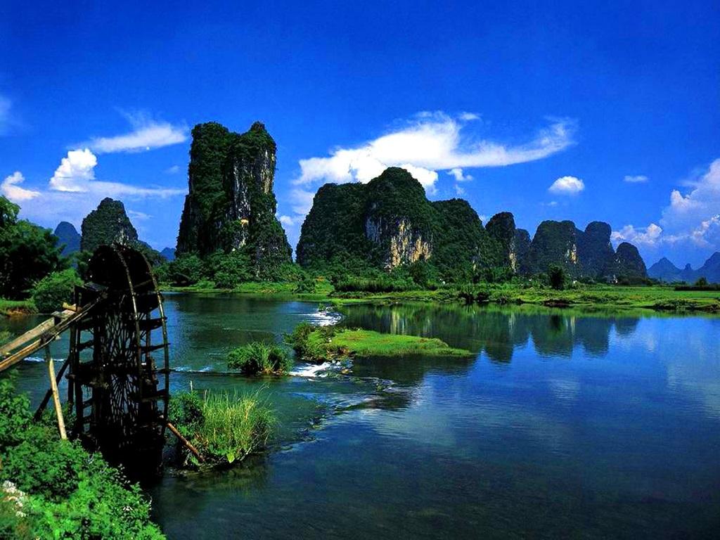Lijiang Bay Scenic Spot 荔江湾景区