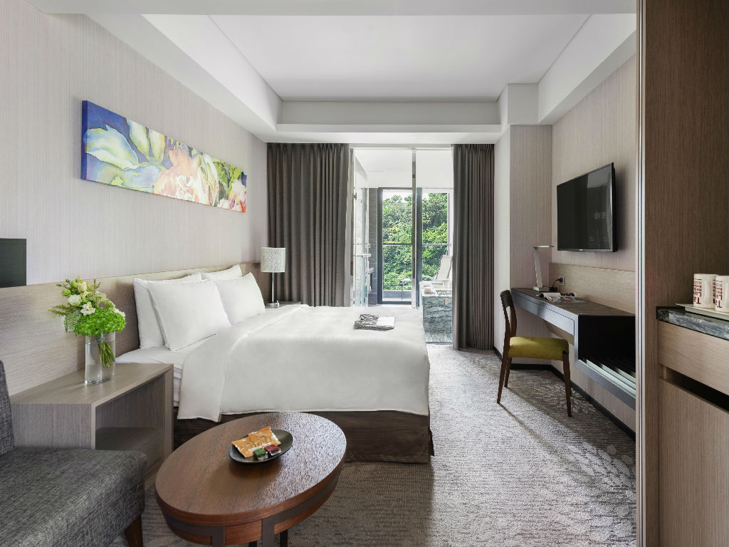 Lakeshore Hotel Suao (烟波大饭店苏澳四季泉馆 - 景观山景一大床)