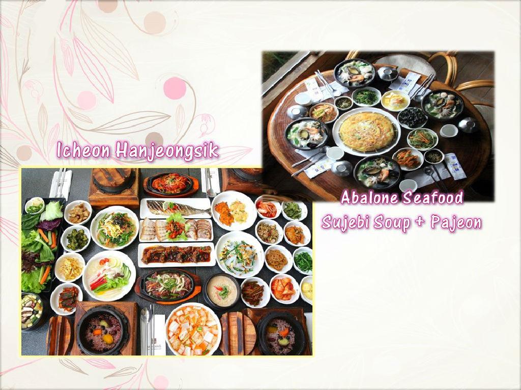 Lunch - Korean Hanjeonsik / Dinner - Abalone Seafood Sujebi Soup + Pajeon (午餐 - 米饭韩定食 /  晚餐 - 韩国鲍鱼海鲜面粉粿汤)