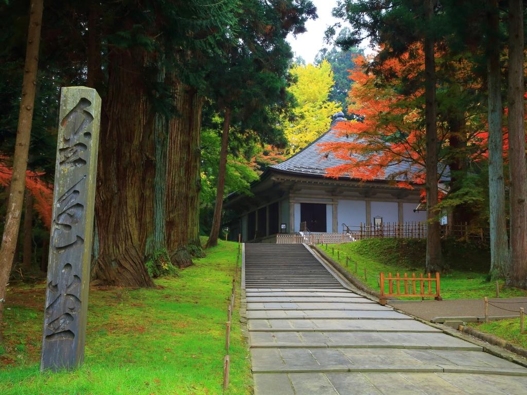 Chusonji Temple / 中尊寺与金色堂