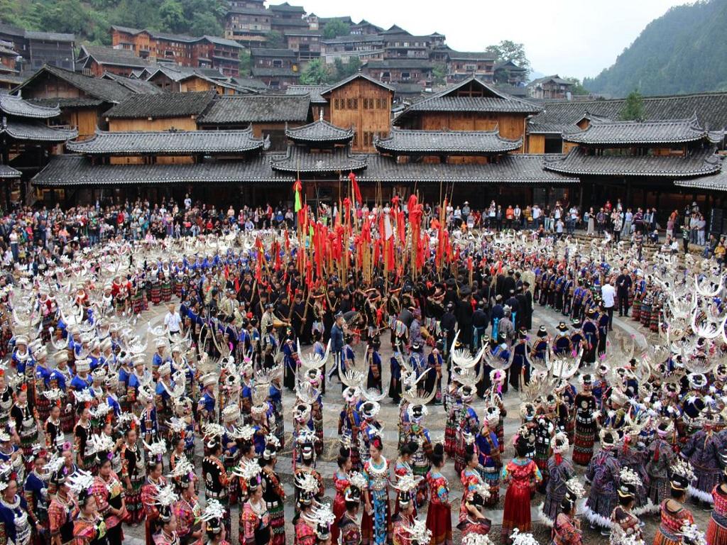 Xijiang Miao Village西江千户苗寨