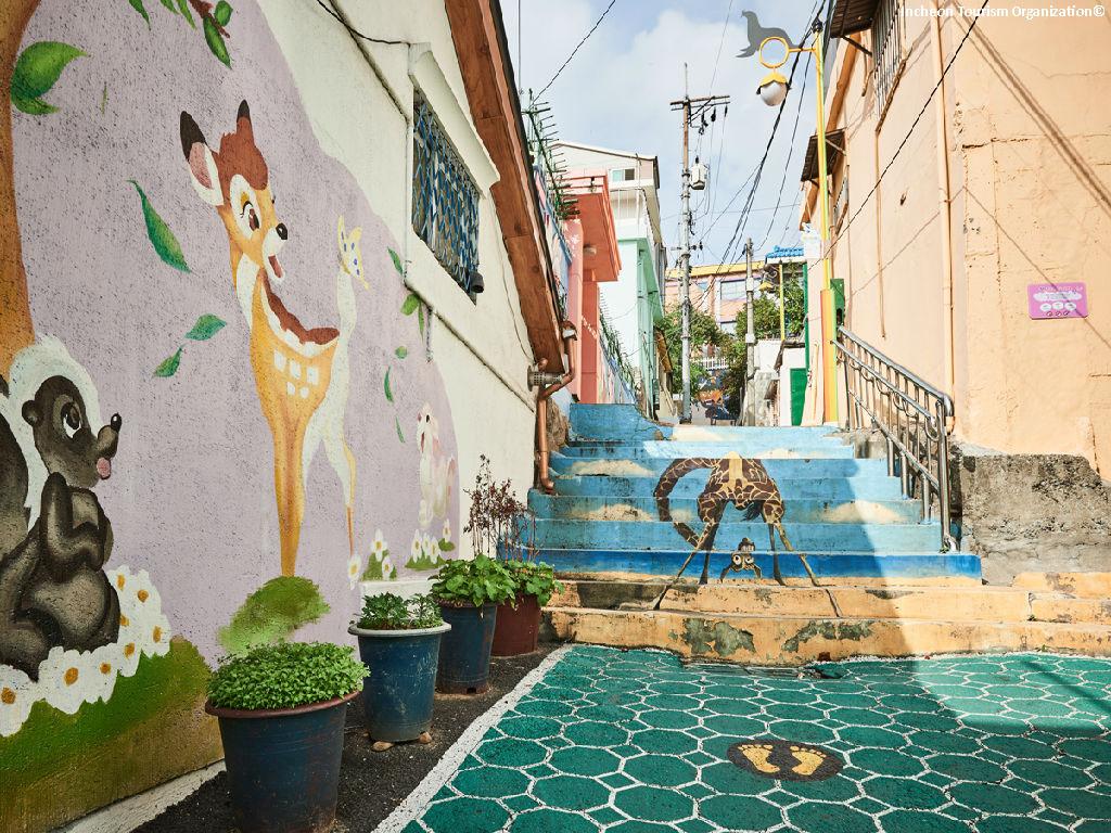 Songwol-dong Fairy Tale Village (松月洞童话村)