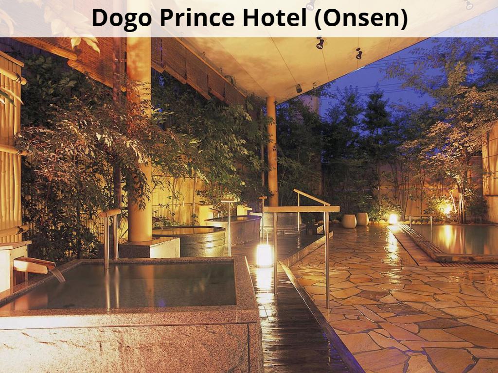 Dogo Prince Hotel or similar (Onsen)
