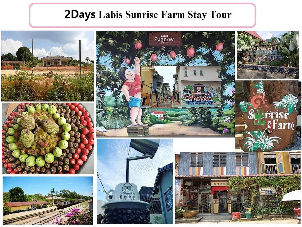 2D Labis Sunrise Farm Stay Tour