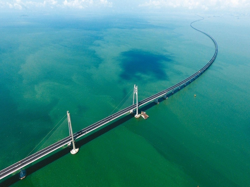 NEW DISCOVERY OF GUANGZHOU /QINGYUAN  & HONG KONG/ZHUHAI/MACAU BRIDGE (GV10)